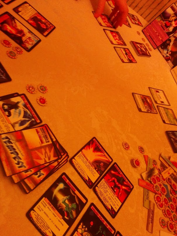 Sentinels of the Multiverse game play