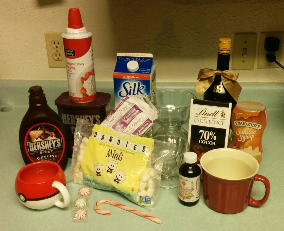 hot cocoa bar ingredients