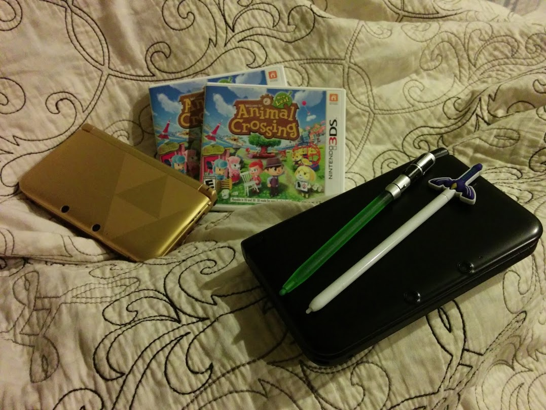 New Leaf with our 3DS