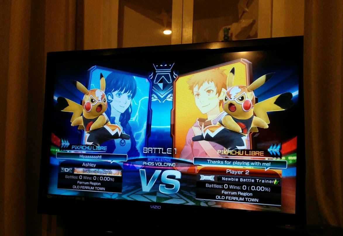 Pikachu Libre Battle